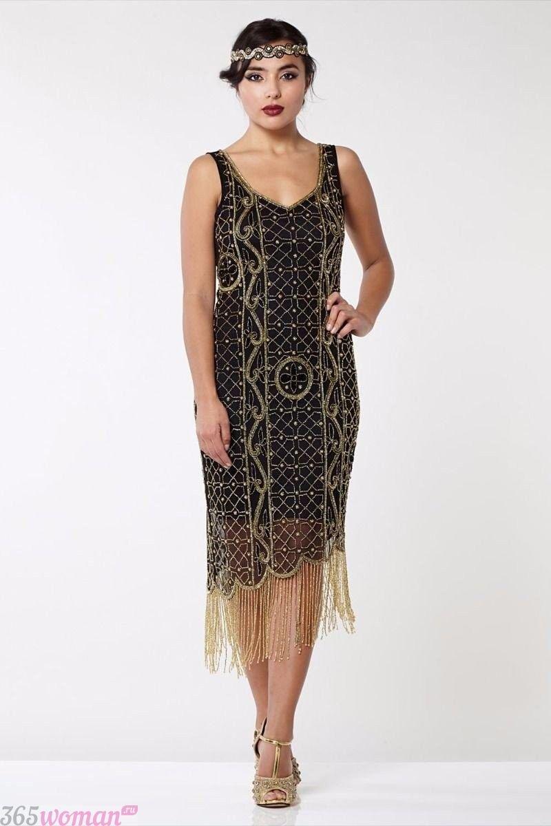 Что одеть на новогодний корпоратив: платье в ретро стиле