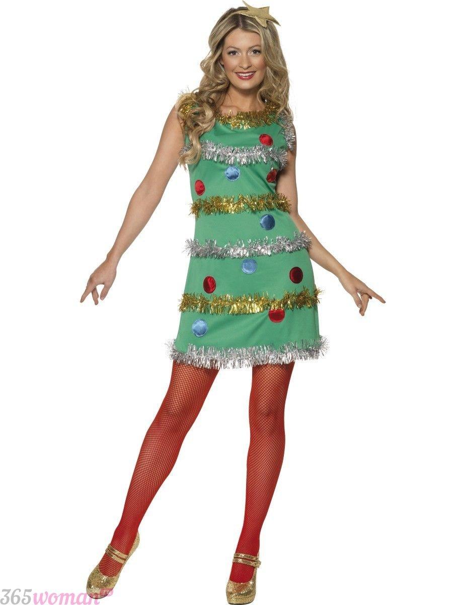 Что одеть на новогодний корпоратив: карнавальный костюм елки