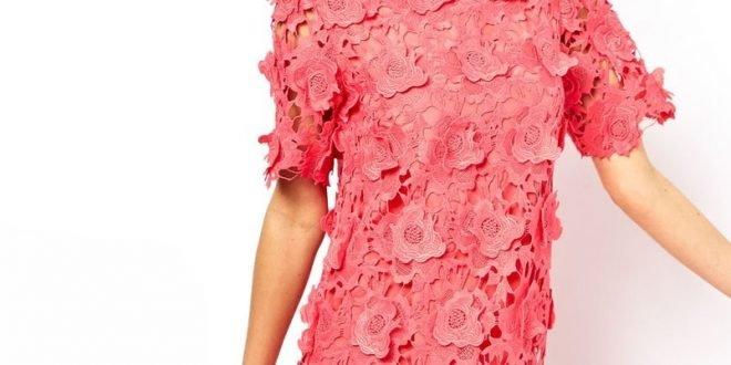 С чем носить платье кораллового цвета фото