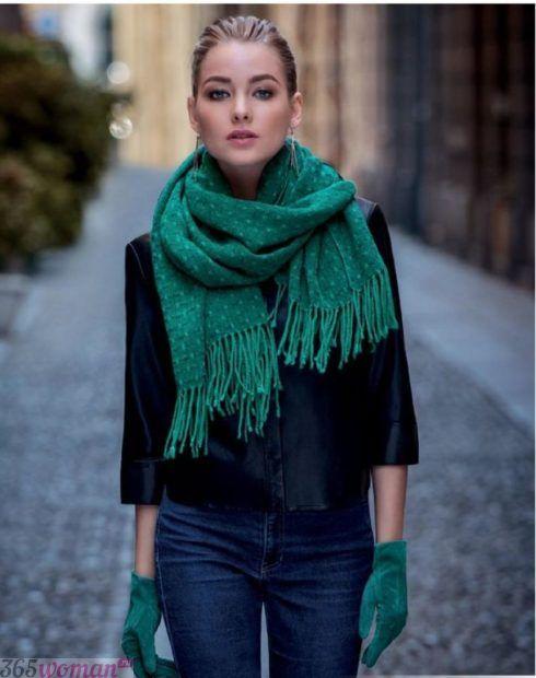 модные шарфы 2019 2020