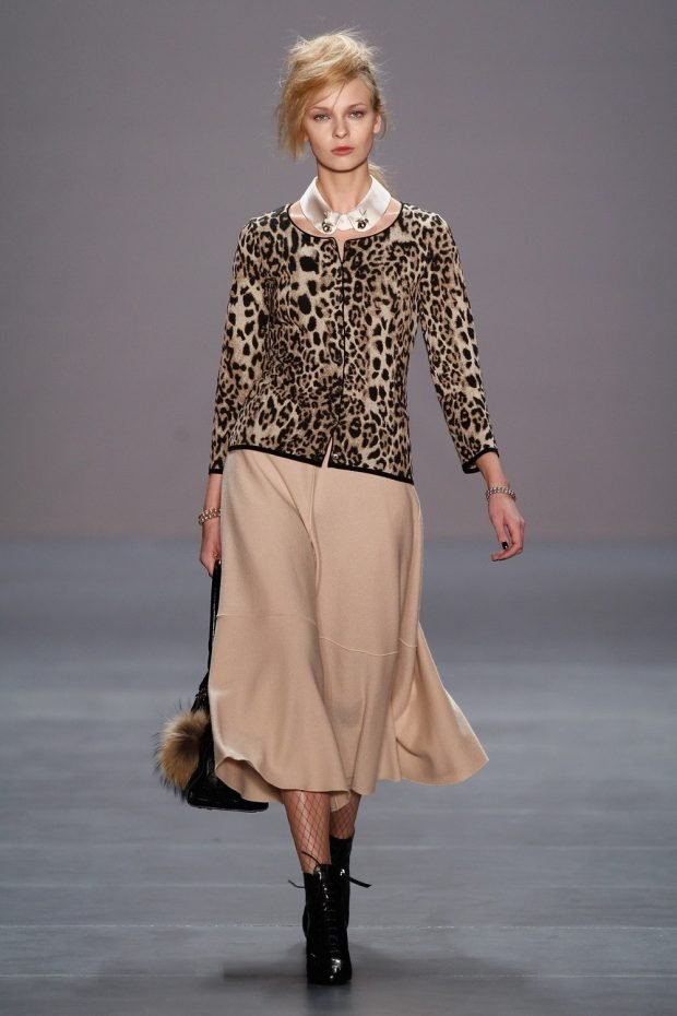 модные принты для осени и зимы 2020 2021: пиджак леопардовый