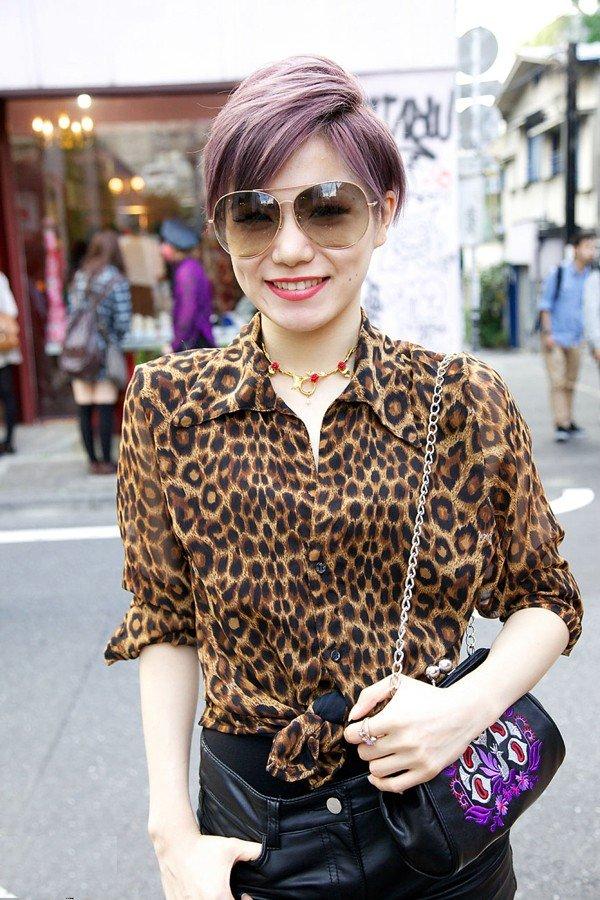модные принты осень зима 2019 2020: женская блуза леопардовый