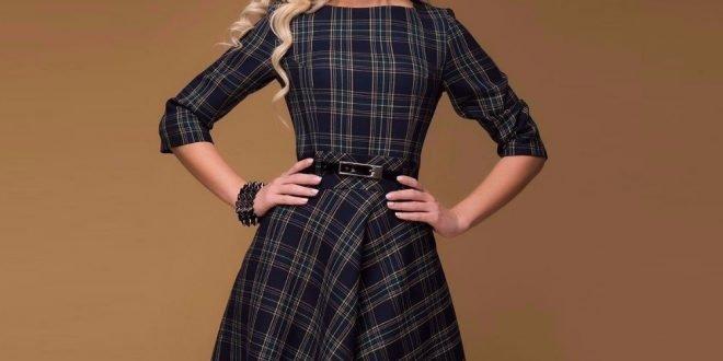 Модные офисные платья 2020 2021: фото и новинки