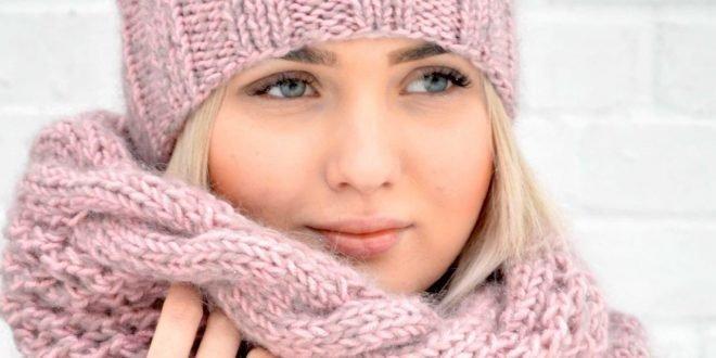Модные женские шапки и шарфы осень-зима 2019 2020. Тренды и фото.