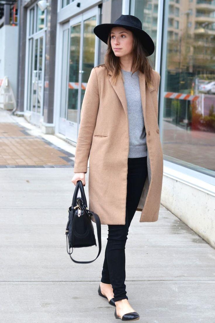 Модные тренды осень-зима 2018 2019: черная широкополая шляпа