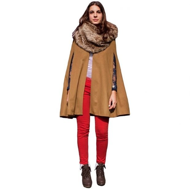 Тренды осень-зима 2019 2020: пальто бежевого цвета без рукавов