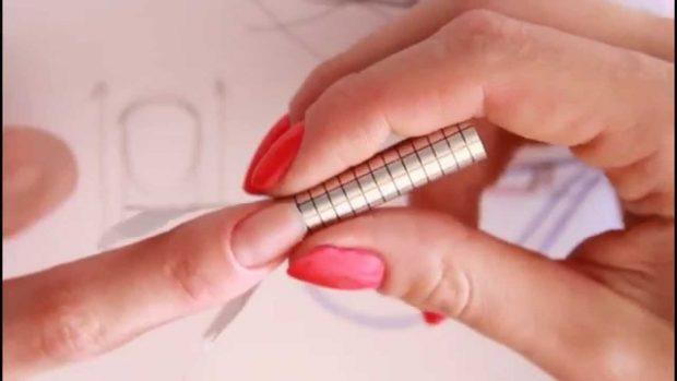арочное моделирование ногтей гелем: процедура