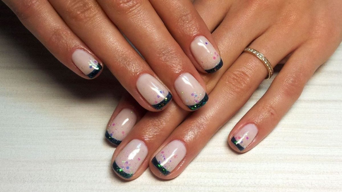 фото гель лака на ногтях серого цвета