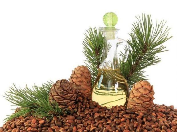 масло ореха кедрового