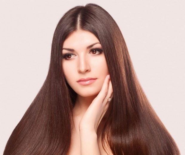 красивые шелковистые волосы