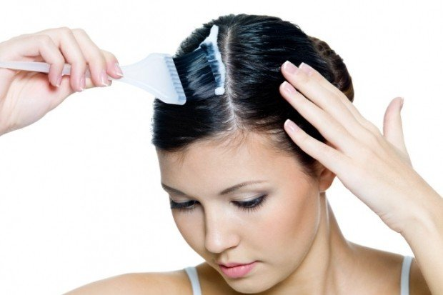 как наносить маску на волосы