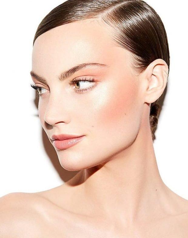 дрейпинг в макияже: под натуральный светлый