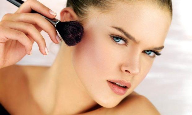 дрейпинг в макияже: как наносить румяна