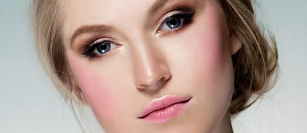 дрейпинг в макияже: розовый