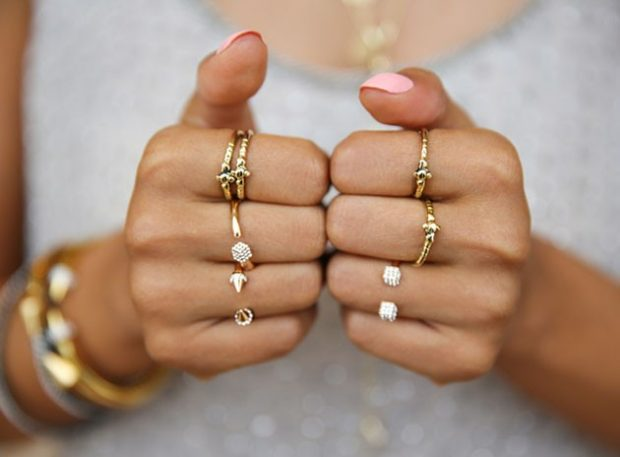 кольца золотые на все пальцы