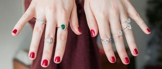 кольца на все пальцы