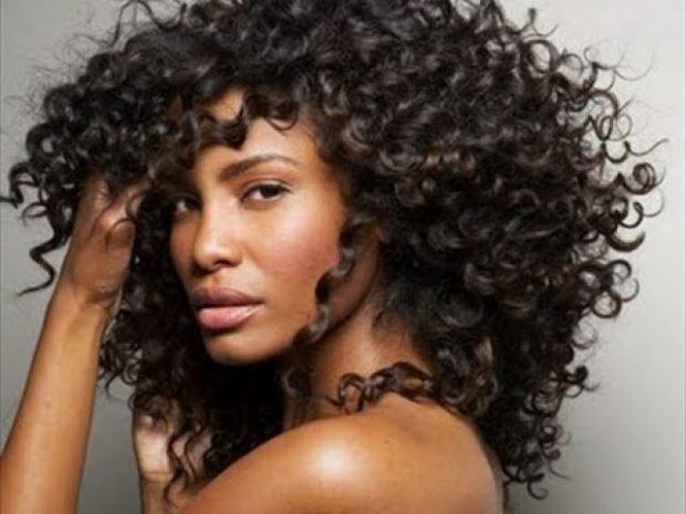 красивые пышшные волосы