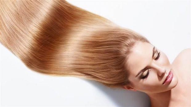 волосы шелковистые крепкие