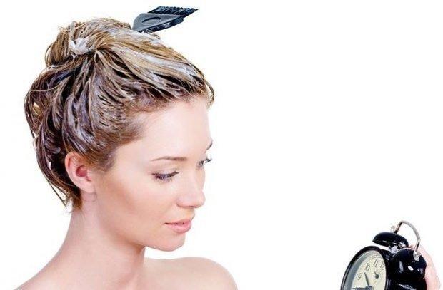 лучшее время для масок для волос