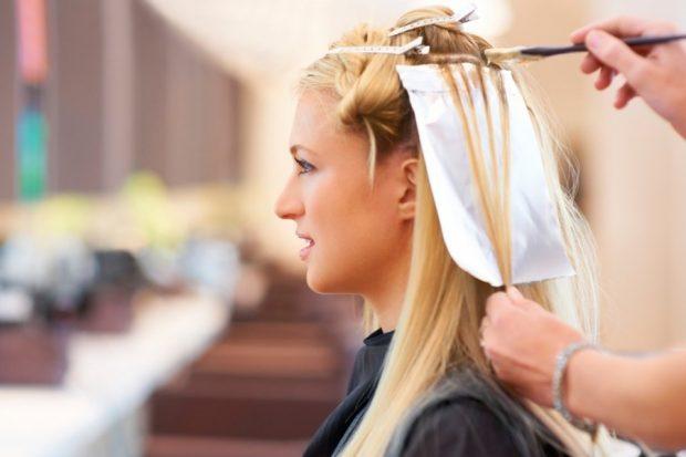 лучшее время для покраски волос