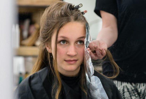 хорошее время для стрижки и покраски волос