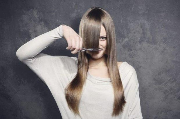 лучше не стричь себе волосы самому