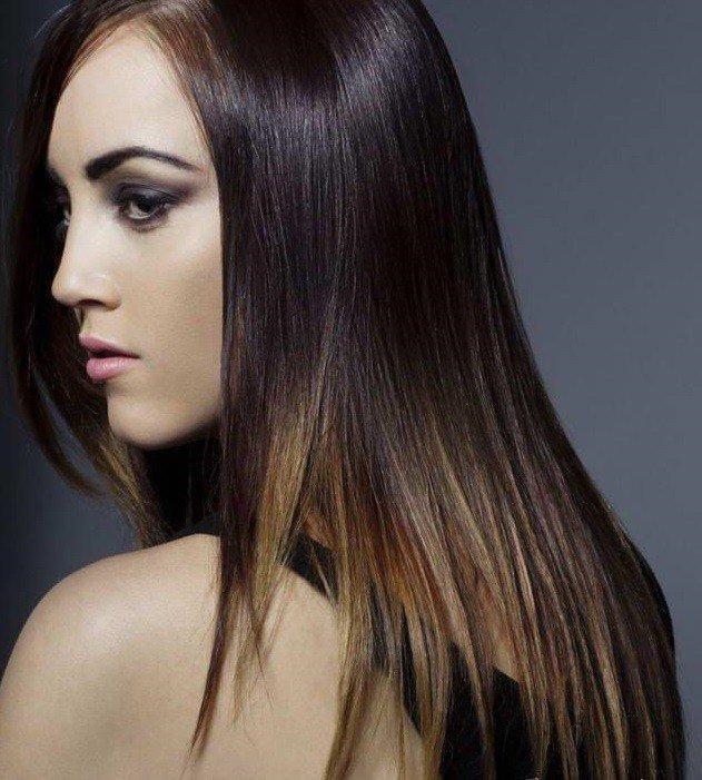 Мелирование волос 2019 омбре