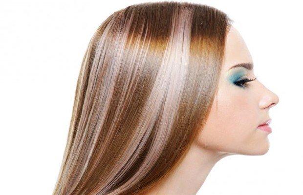мелирование волос 2020 в два цвета