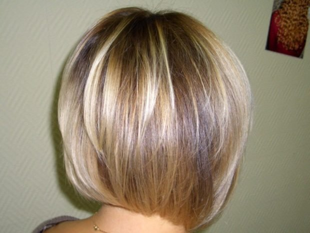 мелирование волос 2020 в два светлых тона