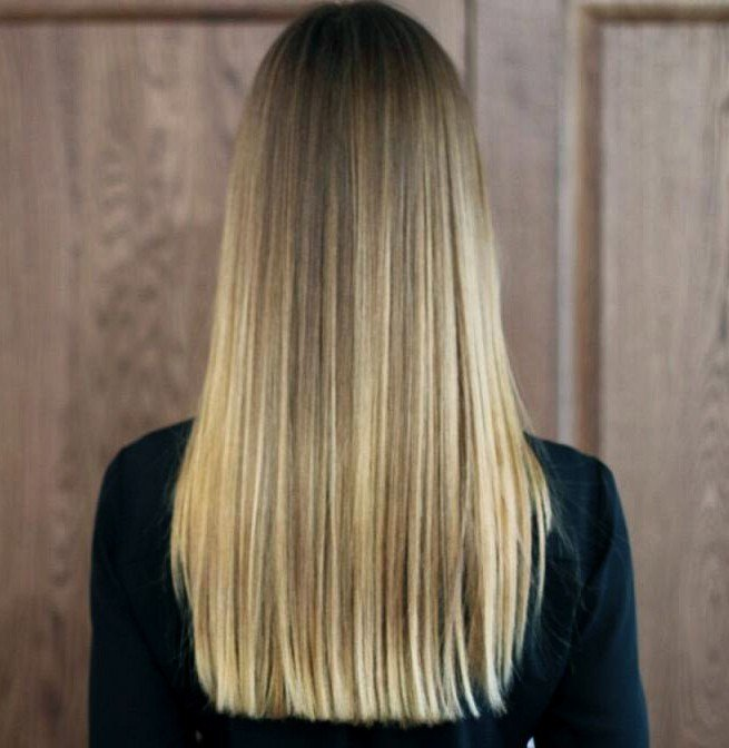 мелирование волос 2018 белое