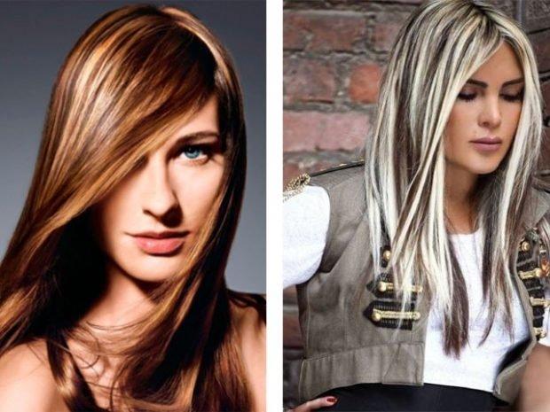 мелирование волос 2019 светлое густое