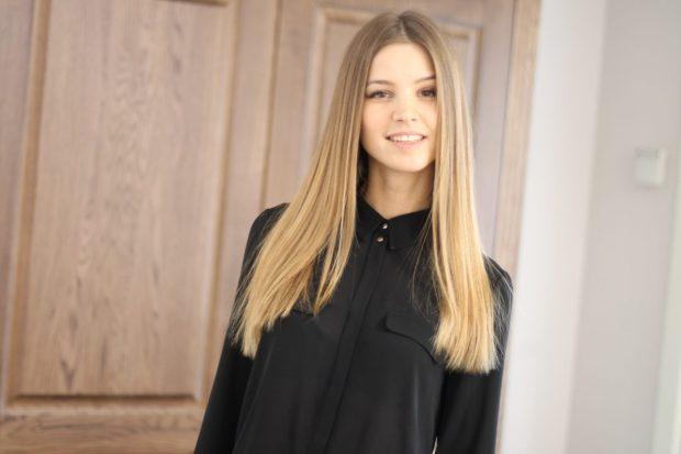 мягкое мелирование волос 2018 белое
