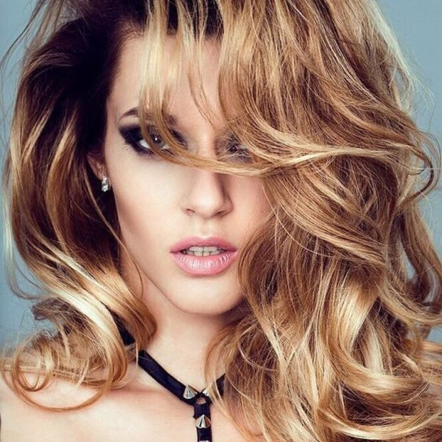 Мелирование волос 2018 золотое