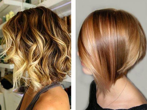 Мелирование волос 2018 белое с рыжим