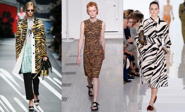 животный принт зебра пальто платье пальто под пояс