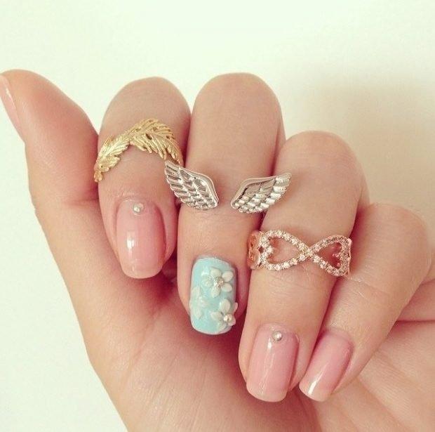 кольца на три пальца