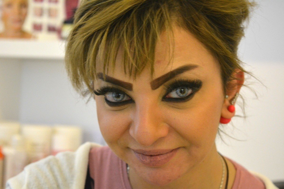 фото приколы сельский макияж важно