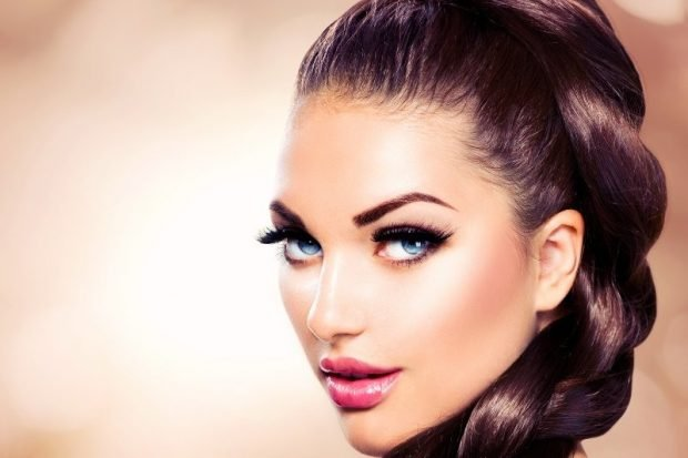 модные брови: тонкие натуральные