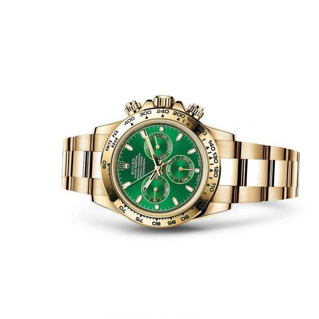 модные женские часы золотые 2019 2020 года ремень металл циферблат зеленый