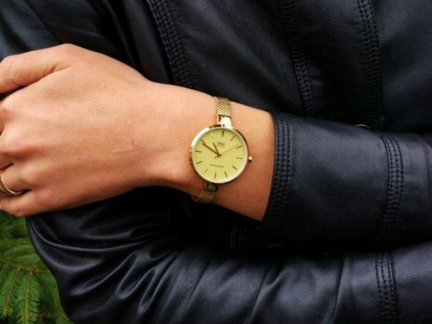 модные женские часы золотые на тонком ремешке золотом 2019 2020