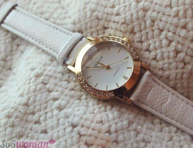 модные женские часы кожаные циферблат золото 2019 2020