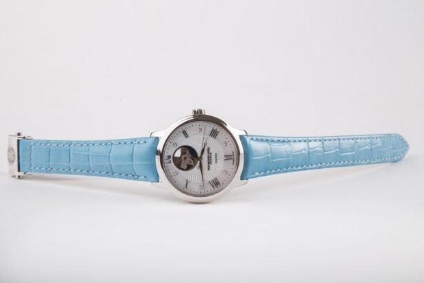 модные женские часы 2019 2020 ремень голубой кожаный оригинальные циферблат