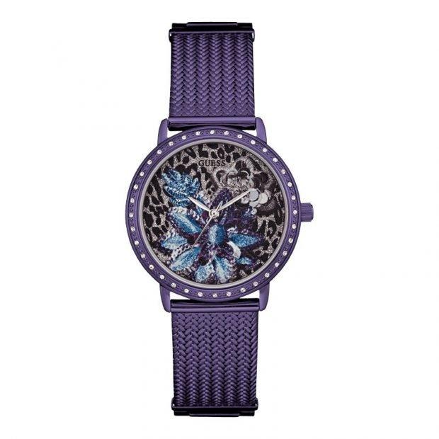 женские часы 2019 2020: сиреневые с цветами