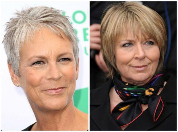 стрижки на короткие волосы 2019 2020 женские фото после 50 лет красивые: пикси каре с челкой