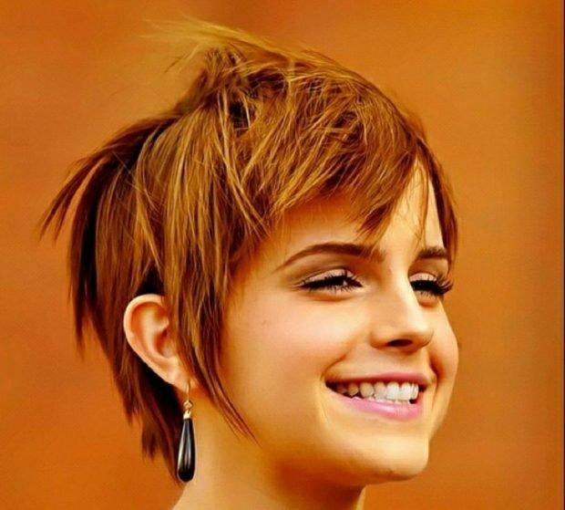 мода 2020 2021 стрижка пикси для коротких волос рваная челка для женщин за 30