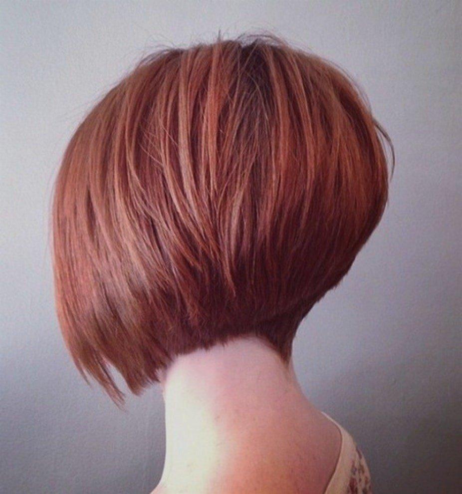 стрижка-боб классический на короткие волосы для женщин за 30 2018