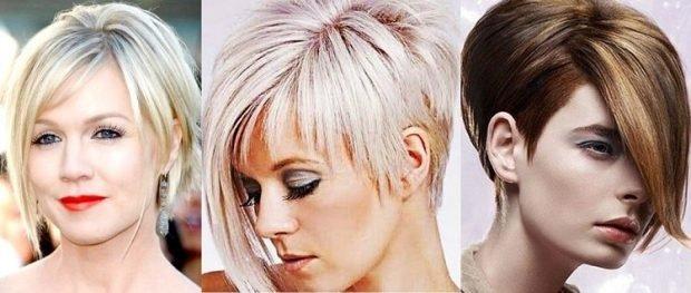 стрижка асимметрия пикси на короткие волосы для женщин за 30 2019 2020