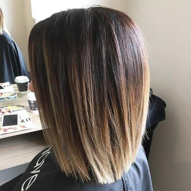 стильная женская стрижка 2018 2019 года каре длина волос по плечи