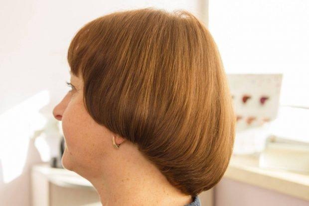 модная женская стрижка сессон средняя длина волос 2018 2019