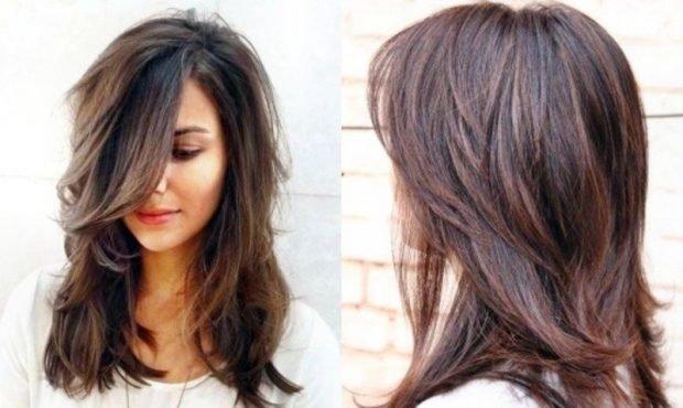 мода 2018 2019 женская стрижка каска средняя длина волос